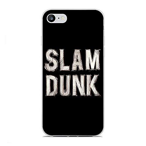 BFDRSGES Carcasa transparente de TPU para iPhone 6 Plus/6S Plus-Slam Dunk-Takeishi Junior High 0
