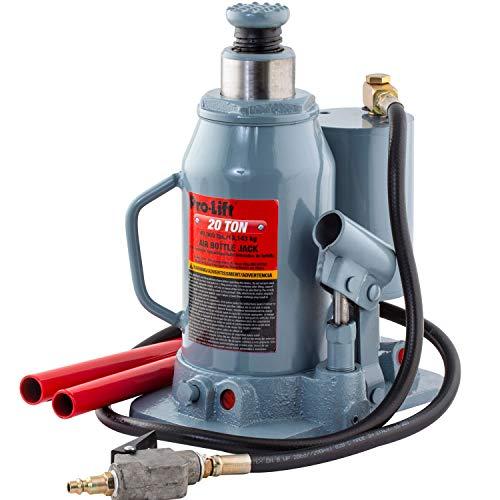 Omega Lift Pro-Lift B-LA20D 20 Ton Low PSI Air Bottle Jack - Pneumatic Manual Heavy Duty Auto Repair Safe Lift