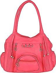 Mango Star casual designer Queen Pink Shoulder Handbag for Girls/Women