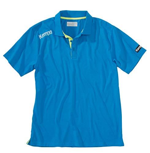 Kempa - Maglietta Polo Core, Blu (Blu), S