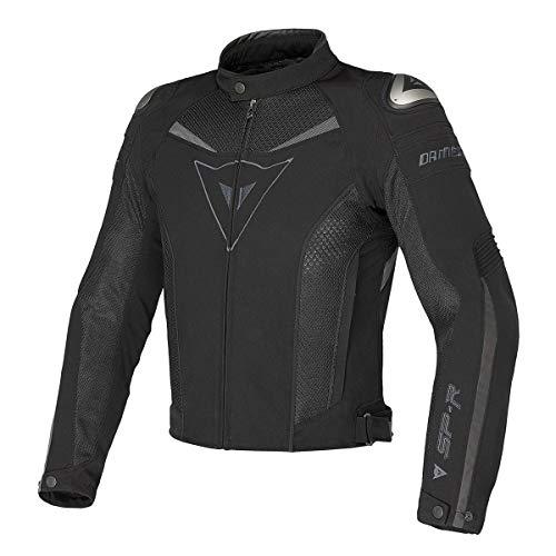 Dainese Super Speed Tex 1735143P6550 Giacca Moto Uomo, 50, Nero (Dark-Gull-Gray)