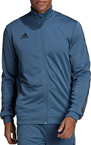 adidas Herren Tiro 19 Fußball-Trainingsjacke, Herren, Tech Ink/Schwarz, Medium
