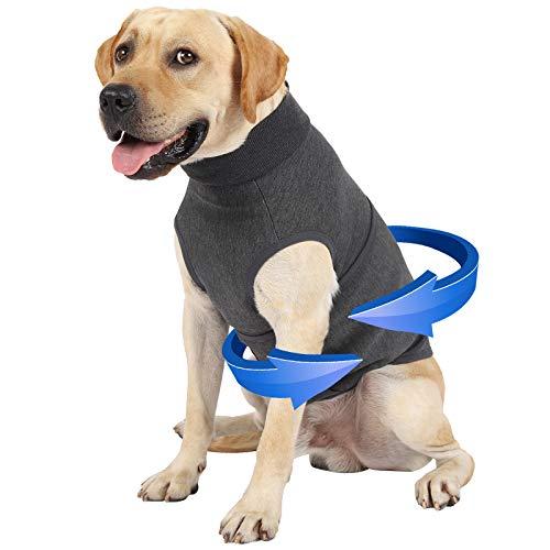 Dog Anxiety Jacket, Dog Thunder Shirt Coat Dog Anxiety Vest Jacket, Thunder Vest for Dogs, Thunder Coat Anxiety Shirt for Dogs, Thunder Jackets for Small Medium Large Dogs