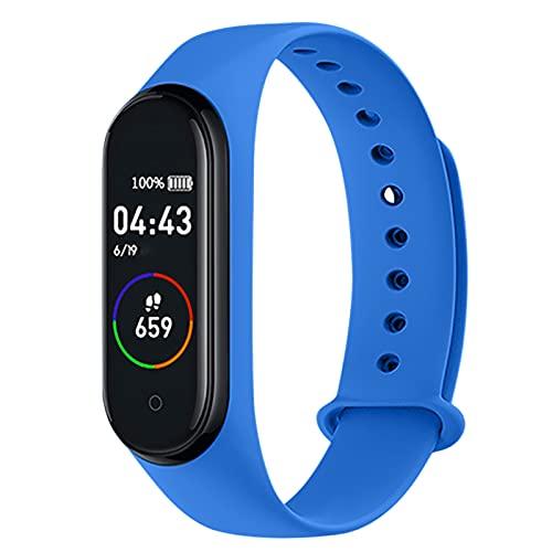 Flytise Smart Watch Schermo a colori Sport Orologio da polso BT IP67 Impermeabile Monitoraggio della frequenza cardiaca della pressione sanguigna Orologio fitness
