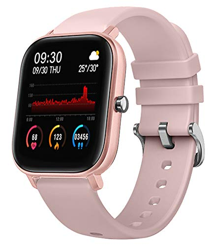 Fitness Tracker with Heart Rate Monitor Activity Tracker Blood Pressure HR Smart Watch Touch Screen Pedometer Watch Calorie Step Counter Smart Band for Men Women