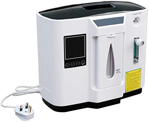 RCHL 93% de Alta pureza Generador portátil de concentrador de oxígeno 1-6L / min Máquina de oxígeno Purificador de Aire casero para Uso doméstico y de Viaje: Amazon ...