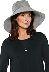UPF 50+ - blocks 98% of UV radiation Approx. circumference: 22 1/2 inches; Ultra wide 6 inch wired brim Fully lined crown with grosgrain sweatband and elastic string for adjustable sizing Travel friendly packable construction; Hand Wash; Impor...