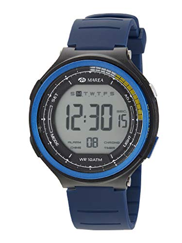 Reloj Marea Digital Sumergible 100m en Azul y Negro B44101/2