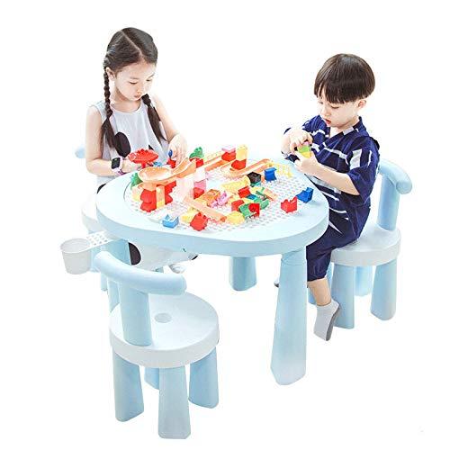 LYY Spaß Interaktiv Multifunktionaler Spielzeugtisch, Kindergebäude Tisch, Lego-Tisch, Baby-Montage, Erleuchtung Sand-Billardtisch, Lerntisch, Spaßspielzeug Die Beste Wahl für Kinder
