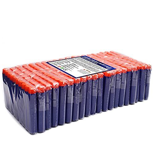 Airlab Darts Pfeile für Nerf Zubehör, 200er Refill Bullets für N-Strike Elite, Nachfüll-Pack Spielzeug für draußen und Familie, Blau