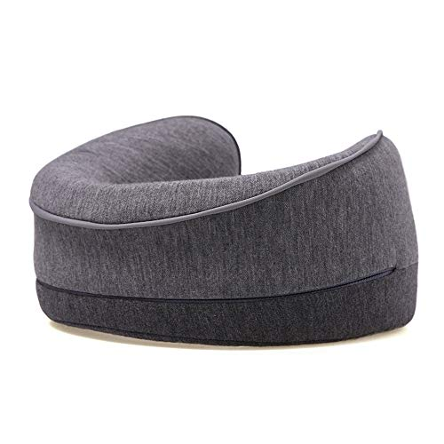 Ergonomic Neck Support Pillow U-shaped Travel Neck Pillow Home or Office Siesta Pillow for Office and Home, Travel (Color : Gray, Size : 23X20X11cm)