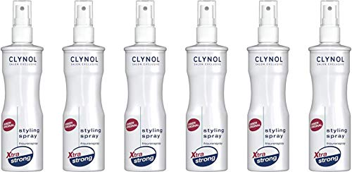 Clynol Xtra Strong Styling Spray 6x250 ml