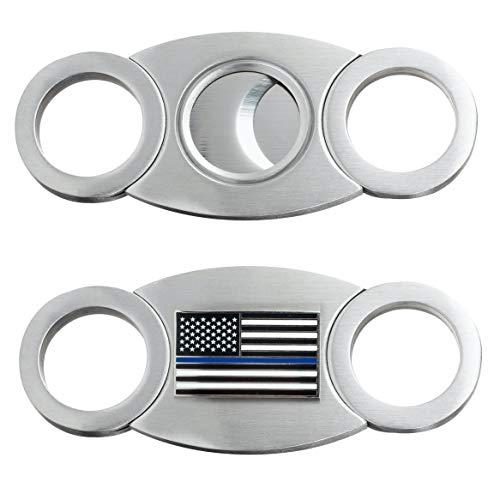Thin Blue Line Cigar Cutter (Law Enforcement)