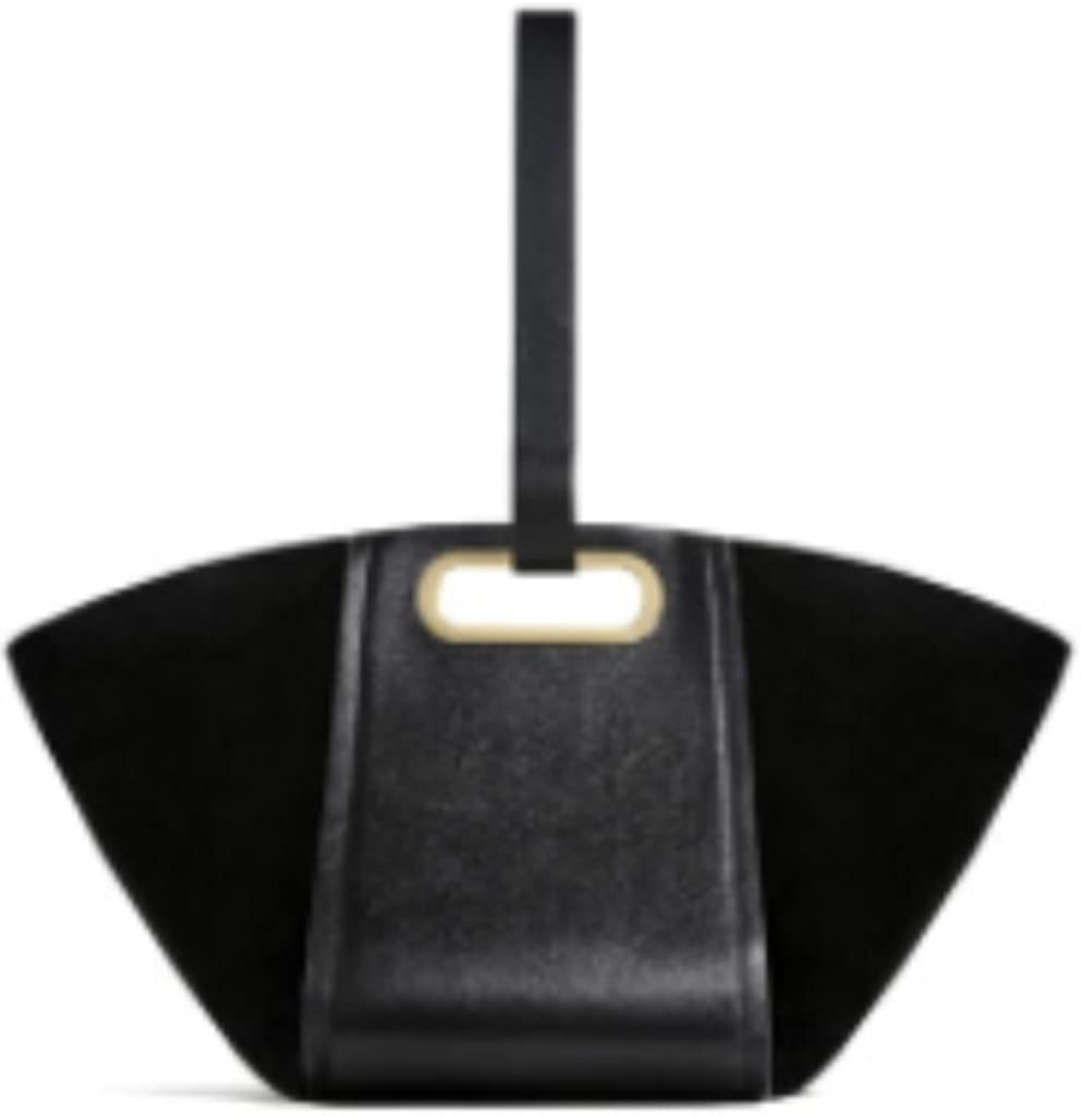 Zara MULTIPOSITION Leather bag black