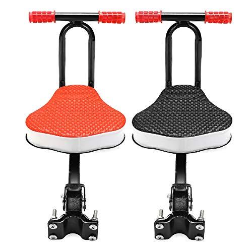 MXBIN Plegable del asiento frente de la bicicleta infantil asientos de bicicleta...