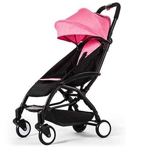 Sistema de viaje Cochecitos de bebé pueden sentarse reclinables cochecitos ligeros y portátiles plegables cochecitos de avión, cochecitos de paseo Sistemas de viaje Silla de paseo FDWFN