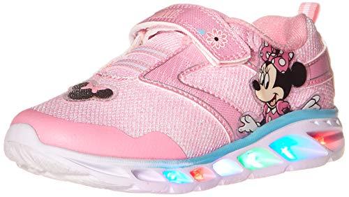 Disney Girls Minnie Sneaker, Light Pink, 6 Toddler