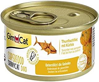 GimCat Superfood Shinycat Duo - Thunfischfilet & Kü