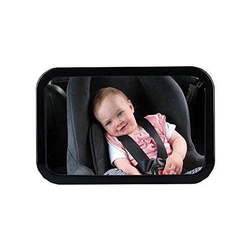 JIURUN Baby Spiegel Rücksitzspiegel für Babys Babyschalenspiegel Rückspiegel für Babyschalen drehbar