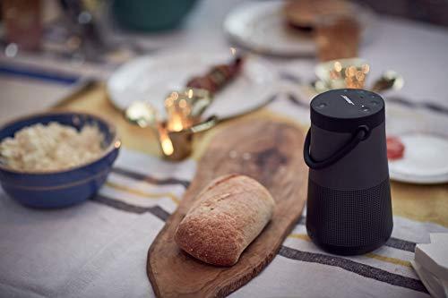 Bose SoundLink Revolve+, tragbarer 360°- Bluetooth - Lautsprecher mit langer Akkulaufzeit, Schwarz