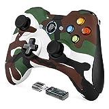 REDSTORM Mando PC, 2.4GHz Gaming Controller Gamepad Joystick con Doble Vibración, Juega con 8 Horas, para PS3 / PC/Android Phones/Tablets/TV Box
