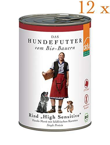 defu Vorteilspack Hund High Sensitive- Menü Rind getreidefrei 12 x 410 g