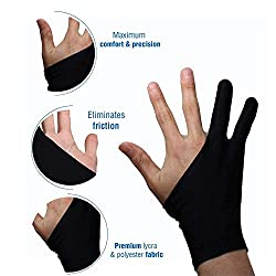 Drawing Tablet Gloves for Artists and Design