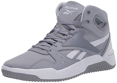 Reebok Men's BB OS MID Sneaker, Cool Shadow/White, 10 M US