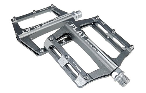 UPANBIKE - Pedales de rodamiento para Bicicleta de montaña aleación de Aluminio, Eje 9/16