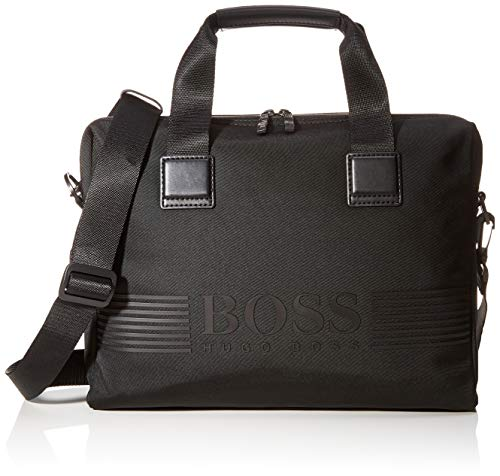 Hugo Boss Herren Pixel_single Doc Cas Gepäck- Handgepäck, Black1, 8x29x38 cm