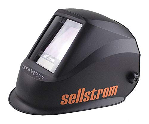 "SELLSTROM WHP 4000 Series, Auto-Darkening Welding Helmet, 4, 5 to 13 Lens Shade, 3.94"" x 3.28"" Viewing Area"