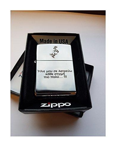 Original Zippo encendedor, grabado. Gran personalizada Regalos, para regalos de cumpleaños, para regalos de Navidad, para día del padre regalo para boda Recuerdos y para aniversario regalos.