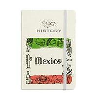 メキシコ料理のサボテンのスケッチ 歴史ノートクラシックジャーナル日記A 5