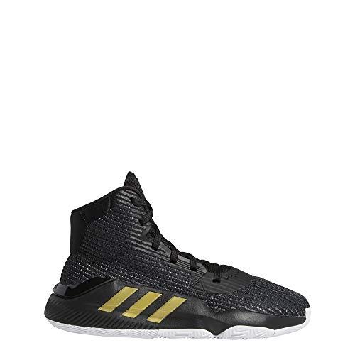 adidas Unisex-Erwachsene Pro Bounce 2019 J Basketballschuhe, Mehrfarbig (Negbás/Dormet/Ftwbla 000), 39 1/3 EU