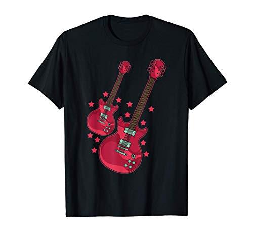 Música Rock Regalo De Un Instrumento Musical Guitarra Camiseta