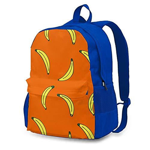 Bananenbrot Rucksack Rucksack Umhängetaschen Leichte Sporttasche zum Wandern Yoga Fitnessstudio Schwimmen Travel Beach 12.6x16.5 Zoll