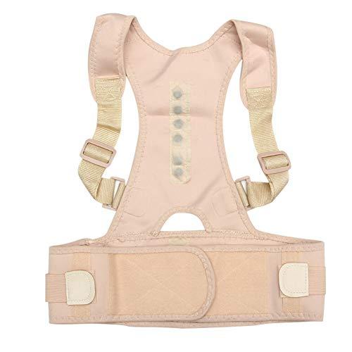 肩肘プロテクター ホットお座り姿勢コレクターアジャスタブル磁気形状ボディショルダーブレースベルトの男性と女性戻る椎骨正しいセラピー SYMJP (Color : M)