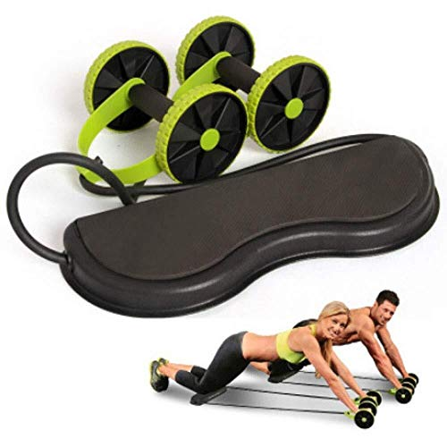 ADLIN Klimmzugstangen, AB Roller Trainingsgeräte Bauchtraining Maschine Ideal Männer Frauen Home Gym