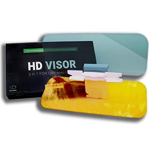 Car Visor Extender Sun Blocker - Car Sun Visor and Anti Glare Visor for Car, 2 in 1 Sun Blocker for Car Windshield, Universal Sun Visor for Day and Night Vision