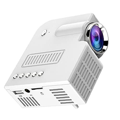 Mini videoproiettore portatile portatile telefono cellulare per il dispositivo di proiezione del film bianco