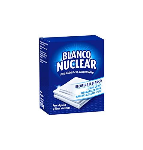 Blanco Nuclear - Blanqueante en polvo, 6 sobres, 120gr