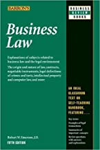 Business Law 5th (fifth) edition Text Only