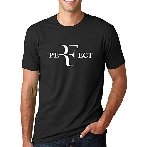 2017 Summer Men Fashion RF Letters Design T Shirt Roger Federer Short Sleeve T-Shirts O-Neck Streetwear Tees Hiphop Tops