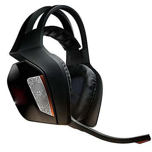 QNSQ Casque Esports avec boîtier de syntonisation indépendant, Son Physique 7.1, qualité Audio HiFi, 10 unités de Son indépendantes, Microphone à réduction de Bruit ENC