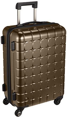 [プロテカ] スーツケース 日本製 360sメタリック サイレントキャスター 44L 55 cm 3.6kg ブラウン
