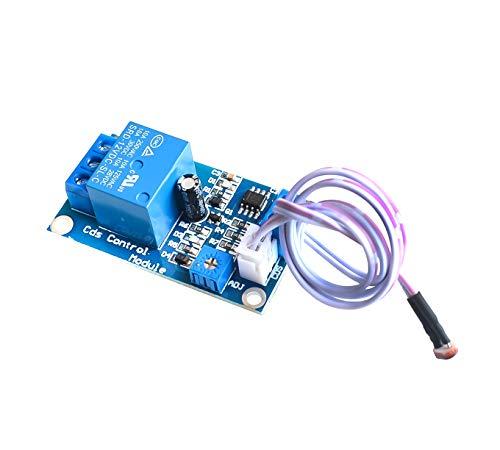 XH-M131 DC 12V Light Control Switch Photoresistor Relay Module Detection Sensor 10A Brightness Automatic Control Module []