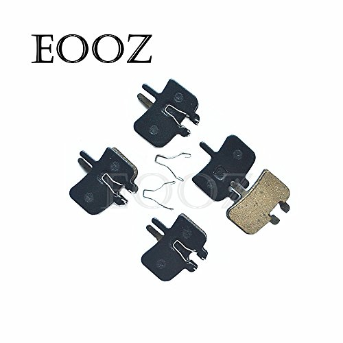 EOOZ 4 Pairs Bicycle Semi - Metallic Disc Brake Pads for Hayes HFX-Mag Series, HFX-9 Series, MX1