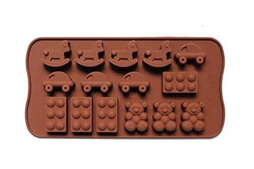 Dingsheng 15-cavity silicona juguete
