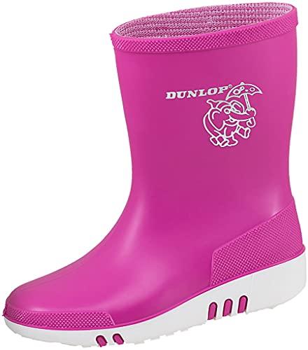 Dunlop Kinder-Gummistiefel Mini (21 EU) (Pink)