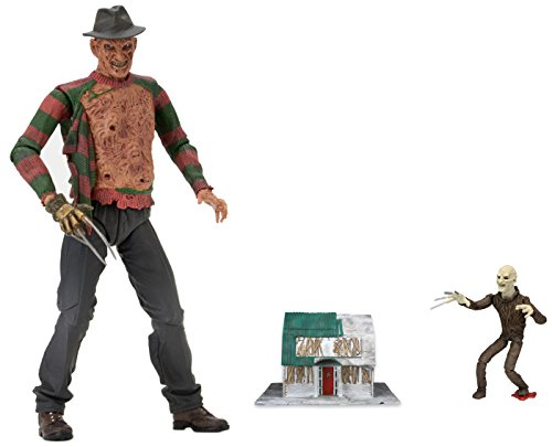 NECA Nightmare on Elm Street Ultimative Dream Warriors Freddy Actionfigur (17,8 cm).